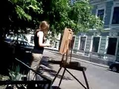 a young artist