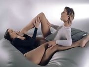 Babes In Pantyhose Sexing With Strap On