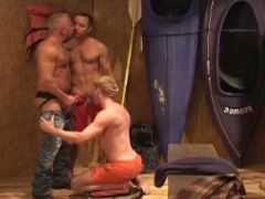 Three Men In A Shed