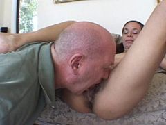 Playful 18 Year Old Enjoys COcksucking