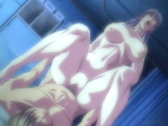 Hentai coed with big tits gets hard penetrated