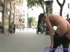 Hot young and naked in public