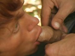 Uncut Guys Fucking in the Forest