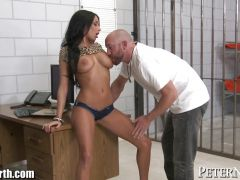PeterNorth Anissa Kate deep Face Fucking