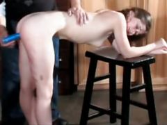 Caning And Dildo Fetish