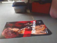 Cum tribute of wwe diva Alicia Fox