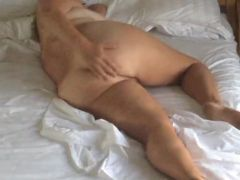 Bedroom hidden cam milf