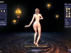 Blade and Soul Nude Mod Character Creation