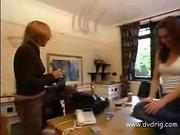 British Chick Learn To Fuck Watching Porn Tapes Of Beautiful Teen Amber Roxx Sucking Long Dick