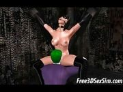 The Joker Shoves His Cock Inside Of Two 3D Babes