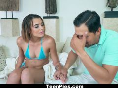 TeenPies - 18yearold teen Creampied By