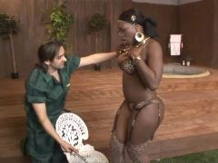 Ebony Star Melvina Raquel in Chest Infection