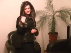 Private milf vid with me posing seductively on camera