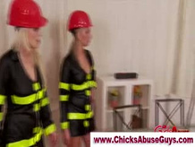 Sexy Fem Dom fire fighter chicks