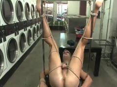 Bdsm - crazy laundry room
