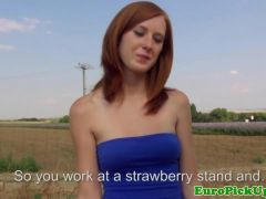 Real publicsex redhead crempied outdoors