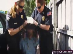 Cops Maggie Green and Joslyn get banged