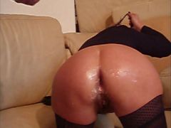 Amateur huge anal insertions double anal fisting