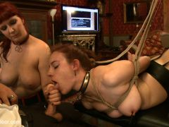Iona Grace & Nerine Mechanique in Service Day: Tight Squeeze - TheUpperFloor