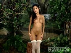 Mindy Vega strips on way to Grandma\'s house