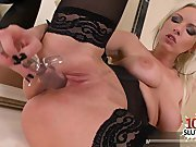 Big boobs bondage squirt