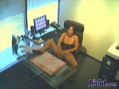 Horny at the office sexy