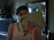 Everybody has a price and we just found Vixxen Harts. She blows big cock for a handful of cash
