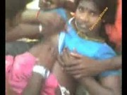 Tamil aunty with gang bang