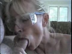 wife and husband having some oral fun