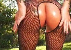 Christy Mack All Oiled Up