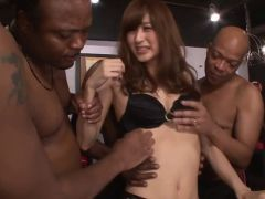Asian babe gangbanged by BBCs