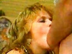Heather Mansfield Sucks A Mean Cock In 80s Style Vintage