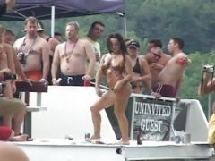 Party Girls Getting Crazy & Nude