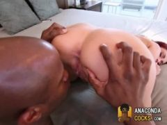Massive-Dick Fucking Dirty Black-Cock-Slut