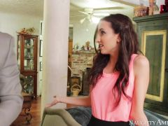 Belle Knox & Steven St. Croix in Naughty Book Worms