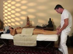 Very tricky massage apartment of horny masseur