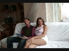 Beautiful tall Young Russian Brunette fucked