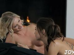 juicy lesbian babes play with bodies moan with passion