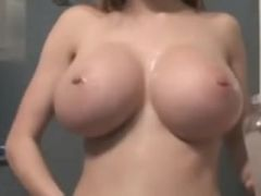 Cam Hotty oiled Large Milk Sacks