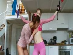 18yo croatian chicks playing with toys