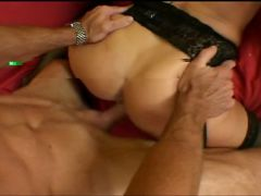 Sexy girl blows and fucks dick