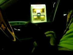 Jerking and flashing in the car at the gas station