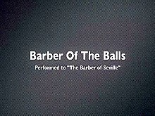 Barber of the Balls