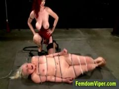 Harsh spanking and vibrator