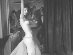 Late 1950s Stripper Nikkie Performs