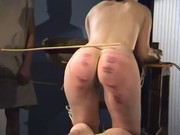 Hardcore Caning Clip
