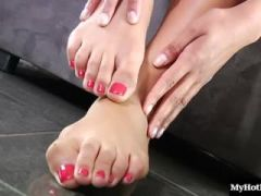 Chloe Amour has the most beautiful feet in the world, and every guy