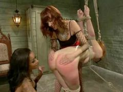 Calico returns dominated and fisted then does her first-ever lesbian twin dicking not far from Maitresse Madeline & Skin Diamond