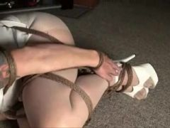 Ball Tied And Ball Gagged