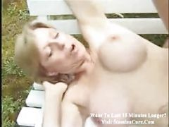 Anal On A Park Bench